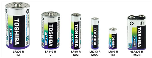Battery Group Size >> Alkaline